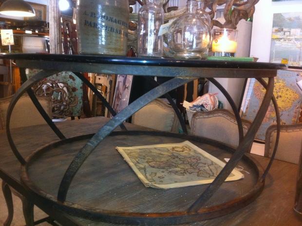 metal coffee table base